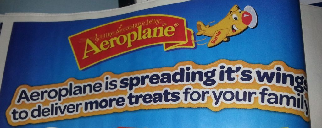 Aeroplane jelly fail