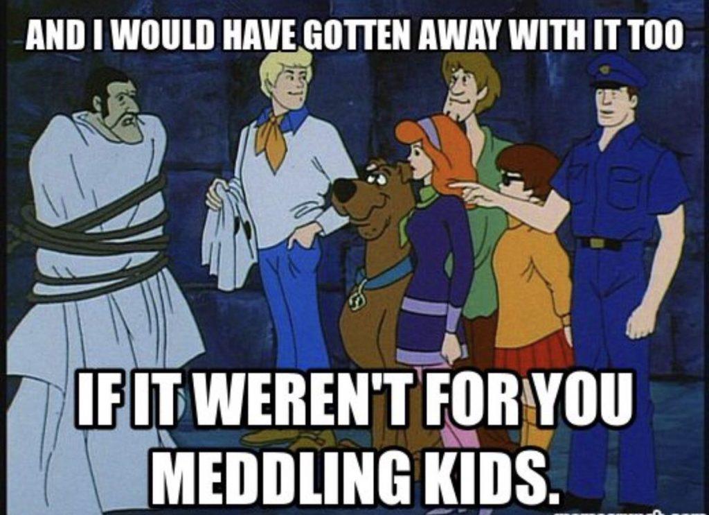 Scooby doo grammar