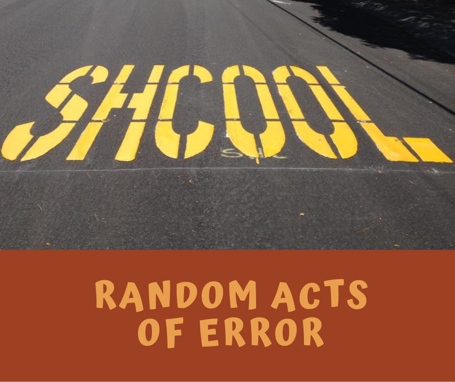 Random Acts of Error category image
