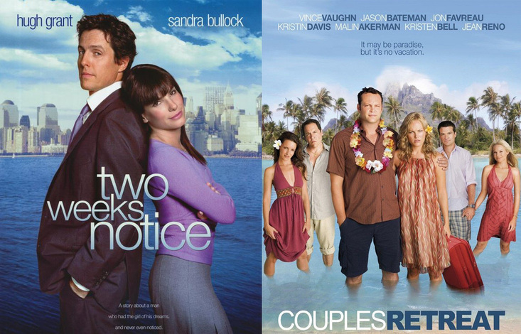 Two Weeks' Notice and Couples' Retreat