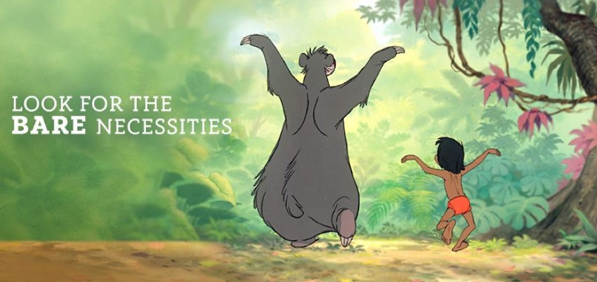 Bare necessities pun