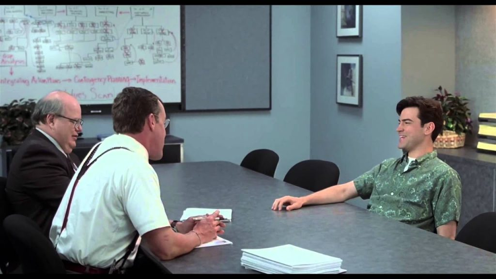 Office Space - meeting with the Bobs