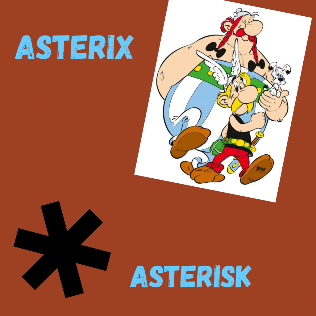 Asterix vs Asterisk