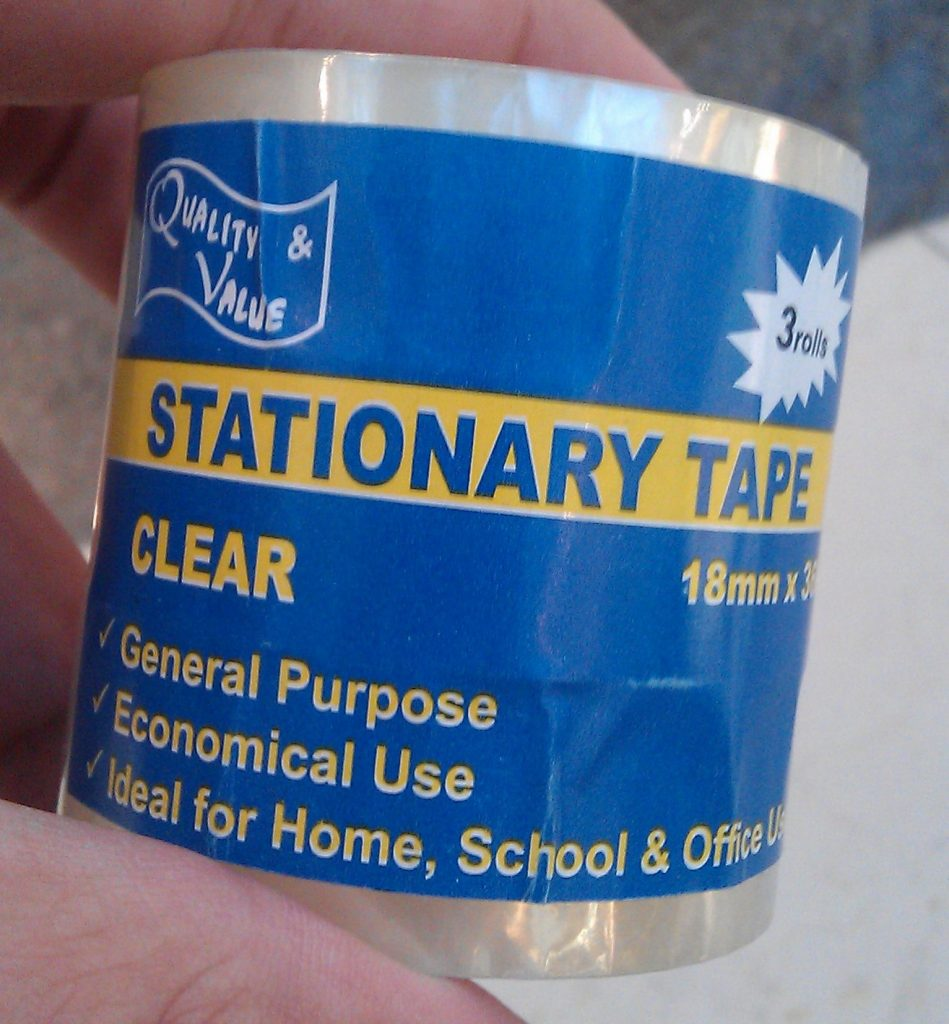 Stationary tape