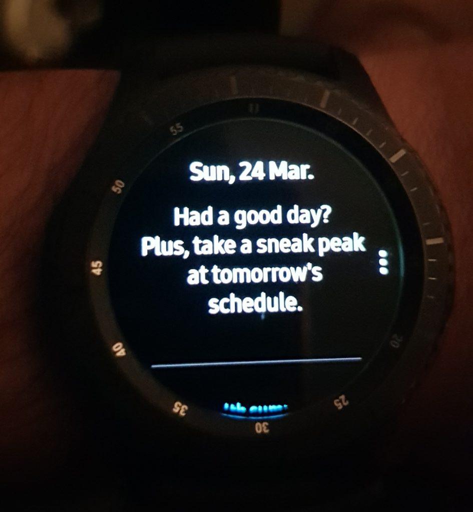 Samsung watch fail sneak peak