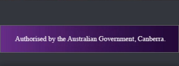 Authorised by the Australian Government