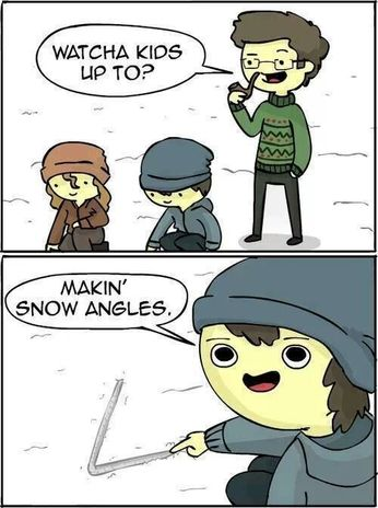 snow angels-snow angles